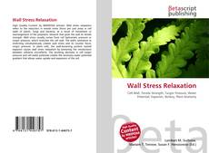 Bookcover of Wall Stress Relaxation