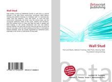 Capa do livro de Wall Stud