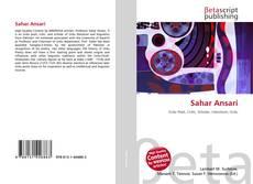 Capa do livro de Sahar Ansari