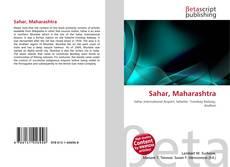 Capa do livro de Sahar, Maharashtra