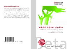 Bookcover of Adolph Johann von Elm
