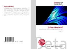 Capa do livro de Sahar Hashemi