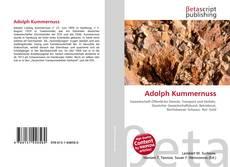 Adolph Kummernuss kitap kapağı