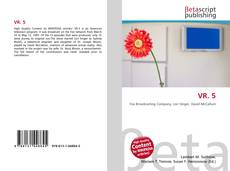 Bookcover of VR. 5