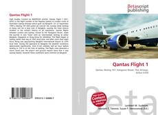 Bookcover of Qantas Flight 1