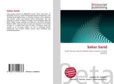 Capa do livro de Sahar Sarid