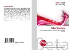 Capa do livro de Sahar Zakaria