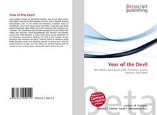 Bookcover of Year of the Devil