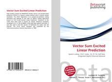Обложка Vector Sum Excited Linear Prediction