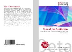 Обложка Year of the Gentleman