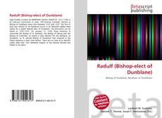 Bookcover of Radulf (Bishop-elect of Dunblane)