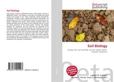 Обложка Soil Biology