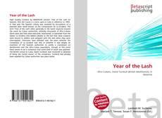 Portada del libro de Year of the Lash