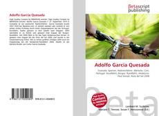 Capa do livro de Adolfo Garcia Quesada