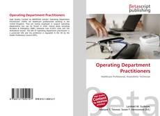 Borítókép a  Operating Department Practitioners - hoz