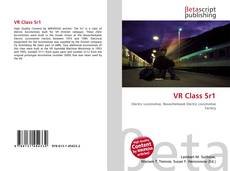 Bookcover of VR Class Sr1