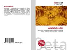 Bookcover of Adolph Müller