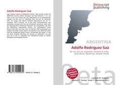 Adolfo Rodríguez Saá kitap kapağı