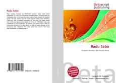 Bookcover of Radu Sabo