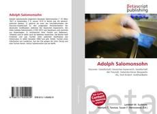 Couverture de Adolph Salomonsohn