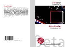 Bookcover of Radu Marian