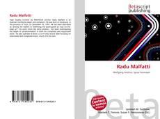 Bookcover of Radu Malfatti