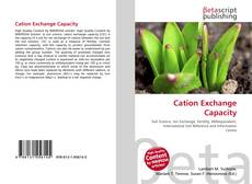 Bookcover of Cation Exchange Capacity