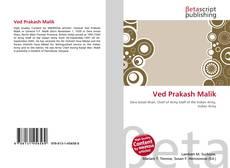 Ved Prakash Malik kitap kapağı
