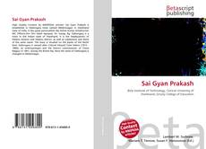 Couverture de Sai Gyan Prakash