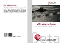 Copertina di VSNL Western Europe