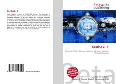 Bookcover of Kenbak- 1