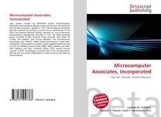 Buchcover von Microcomputer Associates, Incorporated