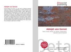 Bookcover of Adolph von Gernet