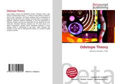 Bookcover of Odotope Theory