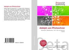 Adolph von Pfretzschner kitap kapağı