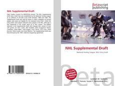 Bookcover of NHL Supplemental Draft