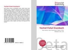 Portada del libro de Yechiel Fishel Eisenbach