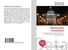 Bookcover of Afrikanisches Christentum