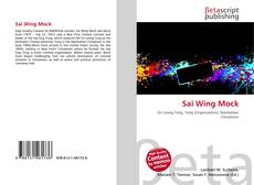 Bookcover of Sai Wing Mock