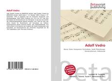 Buchcover von Adolf Vedro