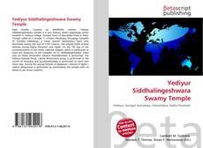 Capa do livro de Yediyur Siddhalingeshwara Swamy Temple