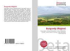 Bookcover of Burgundy (Region)