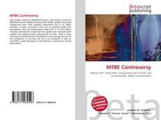 Portada del libro de MTBE Controversy