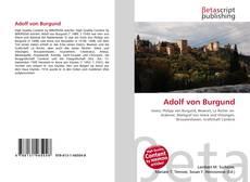 Bookcover of Adolf von Burgund