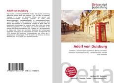 Bookcover of Adolf von Duisburg