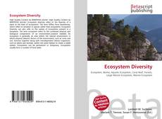 Bookcover of Ecosystem Diversity