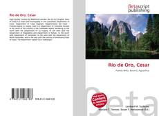 Bookcover of Río de Oro, Cesar