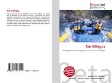 Capa do livro de Río Villegas