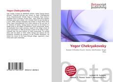 Portada del libro de Yegor Chekryakovsky