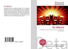 Portada del libro de VU (Album)